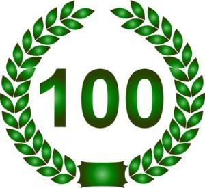 lorbeerkranz jubiläum 100 jahre
